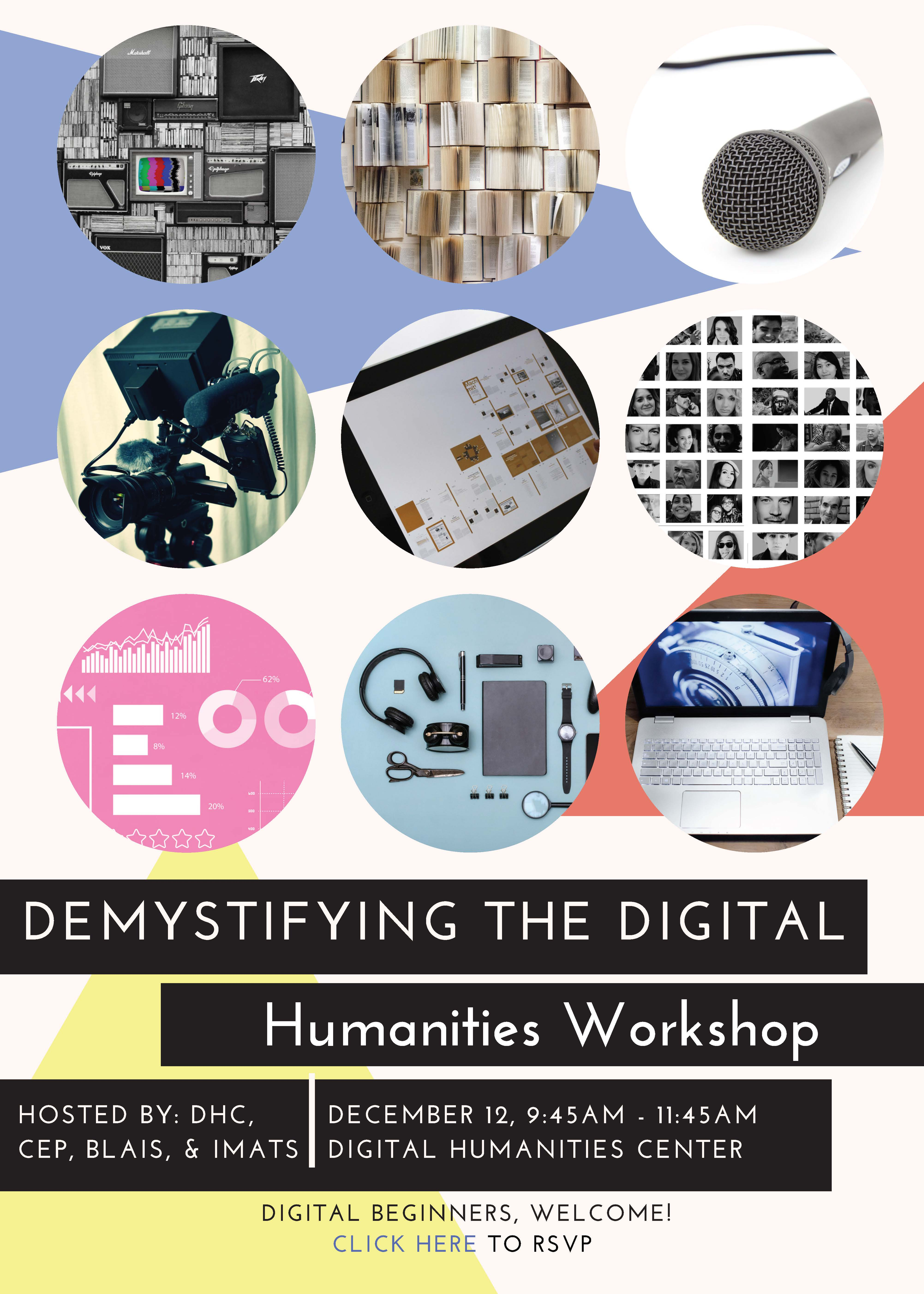 Poster for Event Demystify Digital