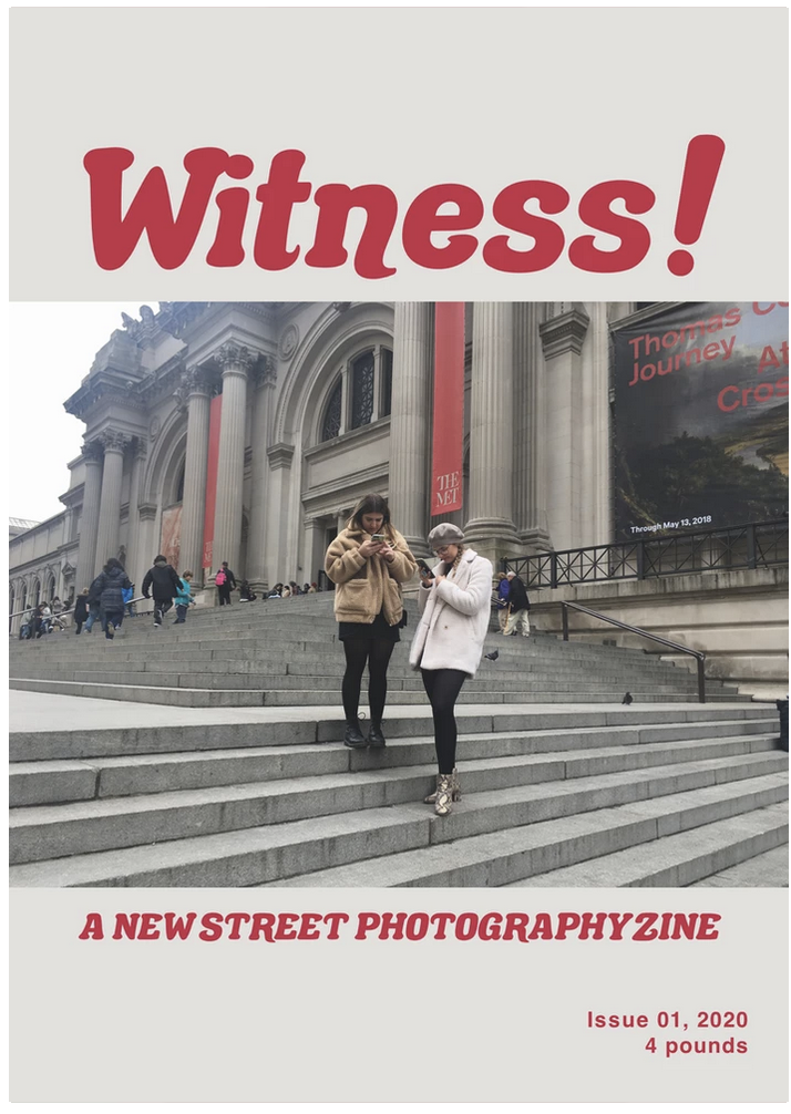 zine cover: Witness #1