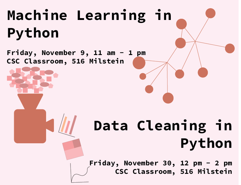 Python Workshops in the CSC | Barnard Library